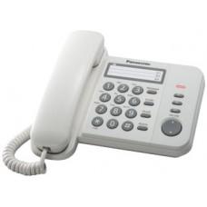 Телефон Panasonic KX-TS2352RUW white