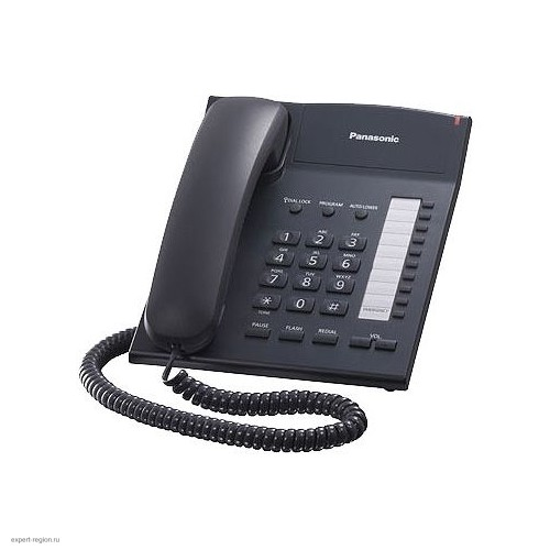 Телефон Panasonic KX-TS2382RUB black
