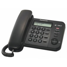Телефон Panasonic KX-TS2356RUB black, ЖК дисплей