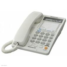 Телефон Panasonic KX-TS2368RUW двухлинейный, white