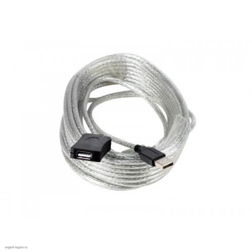 Кабель USB 2.0 Am-Af удлинитель 10м Aopen ACU823-10M