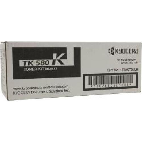 Картридж TK-580K Kyocera FSC-5150DN/P6021cdn