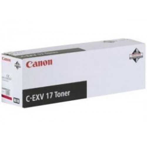 Тонер Canon iR C4080/4580/5185 (Оригинал C-EXV17) Yellow (0259B002)