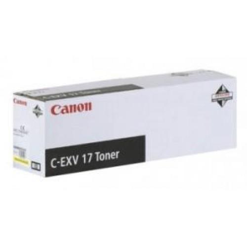 Тонер Canon iR C4080/4580/5185 (Оригинал C-EXV17) Black (0262B002)