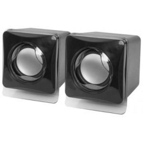 Акустическая система 2.0 Defender SPK-35, 2x2.5W, USB, черный