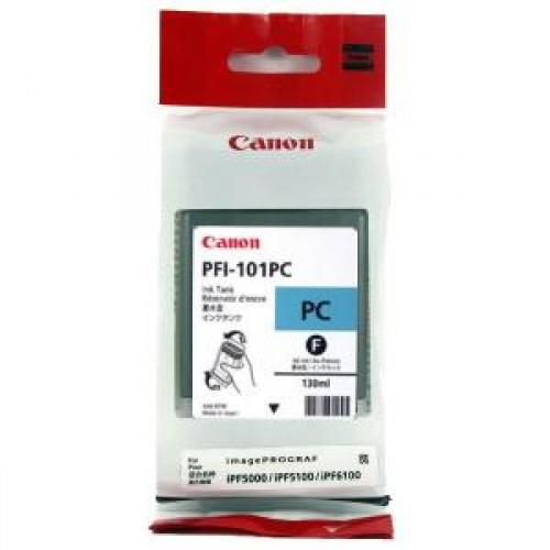 Картридж-чернильница PFI-101PC Canon Pixma iPF5100/6000S/6100 Photo Cyan 130 мл (0887B001)