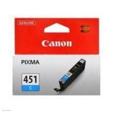 Картридж-чернильница CLI-451C Canon Pixma iP7270/MG5440/6340 Cyan (6524B001)
