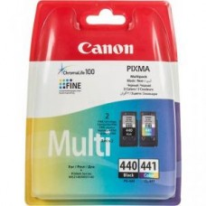 Картридж-чернильница PG-440/CL-441 Canon Pixma MG2140/3140/MG41 Black/Tri-color MultiPack (5219B005)