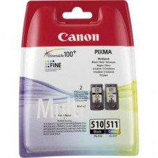 Картридж-чернильница PG-510/CL-511 Canon Pixma MP240/260/480/ MX320/330 Multipack (2970B010)