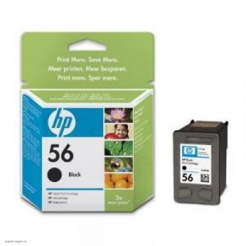 Картридж C6656A (№56) HP DeskJet 5550/5150/5652/450c/PhSm /7150/7350/7550/psc2110/2210 черный 520стр