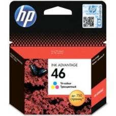 Картридж CZ638AE(№46) HP Deskjet Ink Advantage 2020hc/2520hc цветной