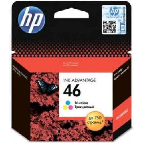 Картридж CZ638AE(№46) HP Deskjet Ink Advantage 2020hc/2520hc цветной