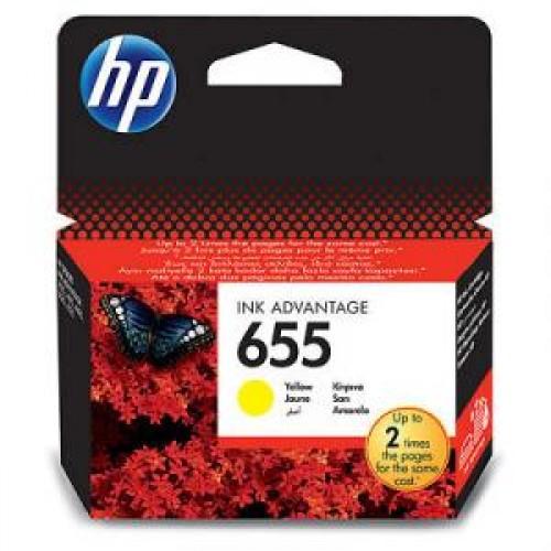 Картридж CZ112AE(№655) HP Deskjet Ink Advantage 3525/5525 Yellow