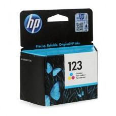 Картридж F6V16AE (№123) HP DJ 2130 цветной (100стр.)