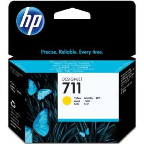 Картридж CZ132A(№711) HP Deskjet T120/T520 Yellow