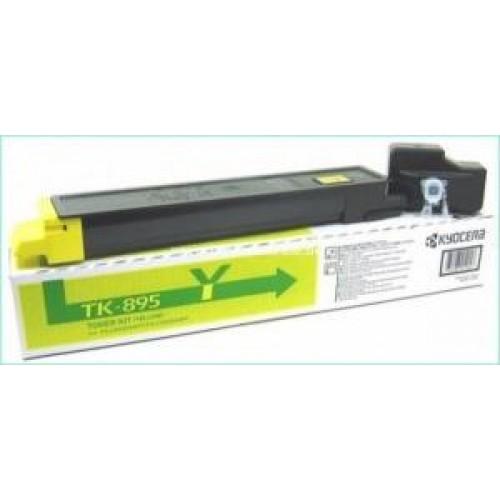 Картридж Kyocera TK-895Y для FS-C8020MFP/C8025MFP/C8520MFP/C8525MFP Yellow/6000 стр