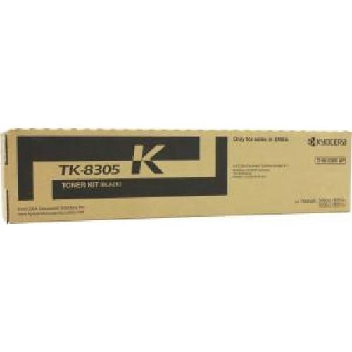 Тонер TK-8305K Kyocera TASKalfa 3050ci/3550ci Black 25000 стр.
