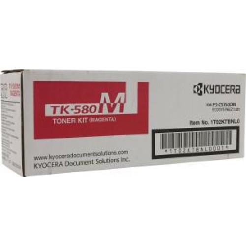 Тонер-картридж TK-580M Kyocera FSC-5150DN/P6021cdn Magenta 2800 стр.