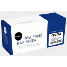 Картридж NetProduct N-CE278A для HP LJ Pro P1566/1606dn/M1536dnf (2100 копий)