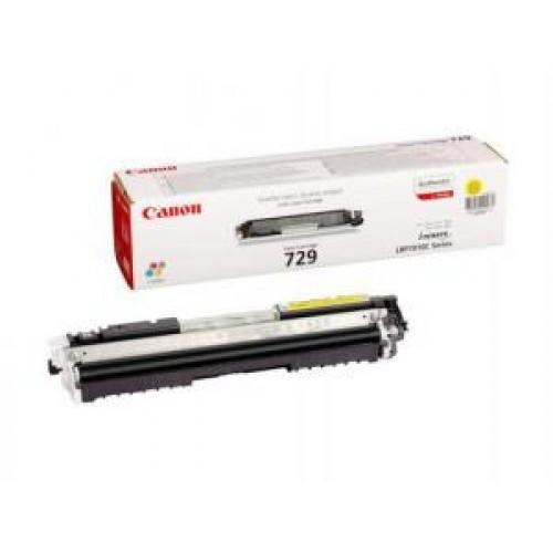 Картридж Canon i-SENSYS LBP7010C/LBP7018C (Cactus Cartridge 729Y) 1000 стр. Yellow