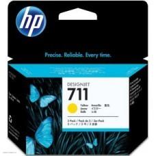 Картридж CZ136A (№711) HP DesignJet T120/T520 Yellow 3х29 ml