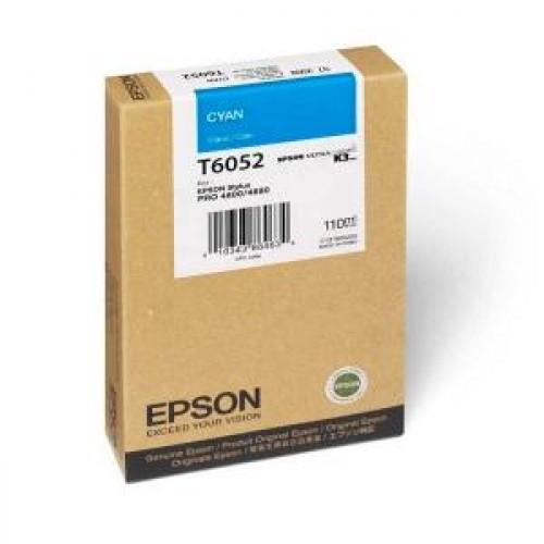 Картридж T605200 Epson Stylus Pro 4880 Cyan 110мл