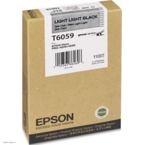 Картридж T605900 Epson Stylus Pro 4880 Light Light Black 110мл