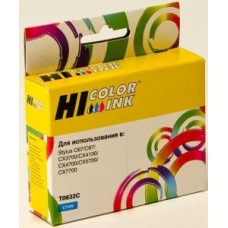 Картридж Hi-black HB-T06324A/C13T06324A для Epson Stylus C67/87/CX3700/4100/4700 Cyan