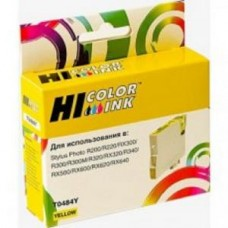 Картридж Hi-black HB-T048440/C13T04844010 для Epson Stylus Photo R200/R300/RX500/RX600 Yellow