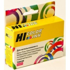 Картридж Epson Stylus Photo P50/PX660/700W/800FW/R265 Magenta (Hi-Black) new, C13T08034010