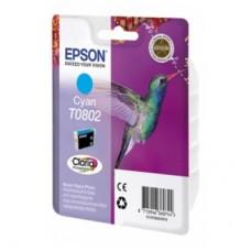 Картридж Epson Stylus Photo P50/PX660/700W/800FW/R265 Cyan (Hi-Black) new , C13T08024010
