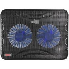 Охлаждающая подставка для ноутбука Buro BU-LCP156-B214 black 15.6