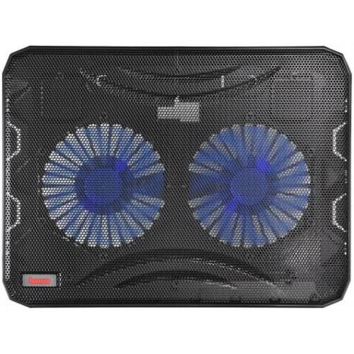 """Охлаждающая подставка для ноутбука Buro BU-LCP156-B214 black 15.6"""" (BU-LCP156-B214)"""