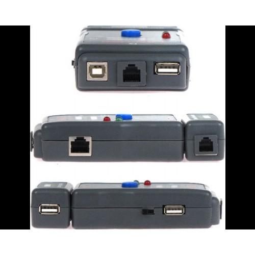 Тестер кабельный Gembird NCT-2, USB/RJ-45/11