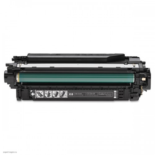 Картридж CE264X HP Color LJ CM4540f black