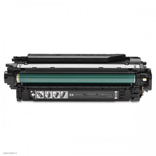 Картридж CE264X HP Color LJ CM4540f black