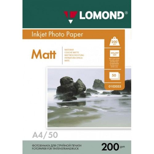 "Фотобумага Lomond, A4, 200 г,м2, ""Шотландка"", 10л (0921041)"