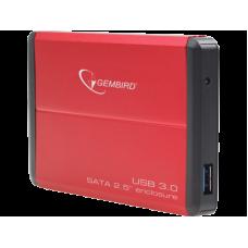 Контейнер внешний Gembird EE2-U3S-2-R USB 3.0, 2.5