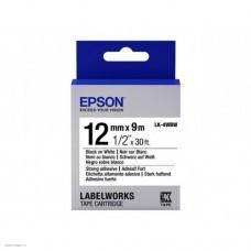 Лента Epson LK-4WBW (C53S654016)
