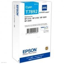 Картридж T789240 Epson WorkForce WF-5xxx Series Ink Cartridge XXL Cyan