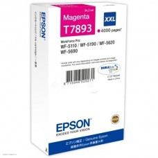 Картридж T789340 Epson WorkForce WF-5xxx Series Ink Cartridge XXL Magenta