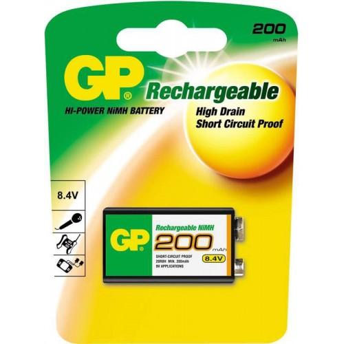 Аккумулятор GP 9V (1шт)