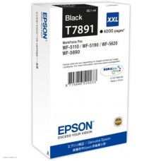Картридж T789140 Epson WorkForce WF-5xxx Series Ink Cartridge XXL Black