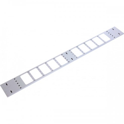 Организатор коммутационных шнуров ЦМО 42HU, 75х12х1867, вертикальный, для шкафов,серый (ВКО-М-42.75)