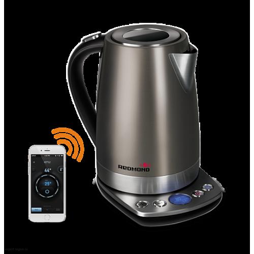 Чайник Redmond RK-M173S-E, 2200Вт, серебристый
