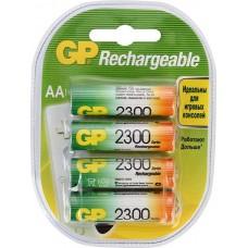 Аккумулятор GP AA (2300mAh) 230AAHC-2DECRC4 NiMH (4шт)