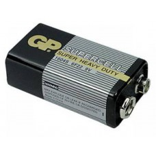 Батарейки щелочные GP 6F22 (Крона)