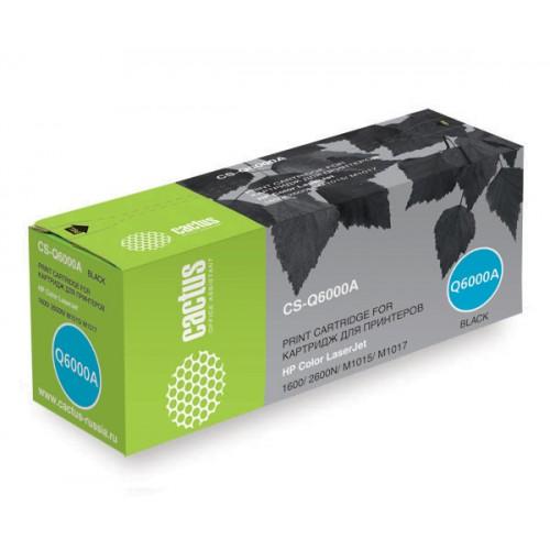 Картридж Q6000A HP Color LJ 1600/2600N/M1015/M1017 Black (Cactus) 2500 стр.