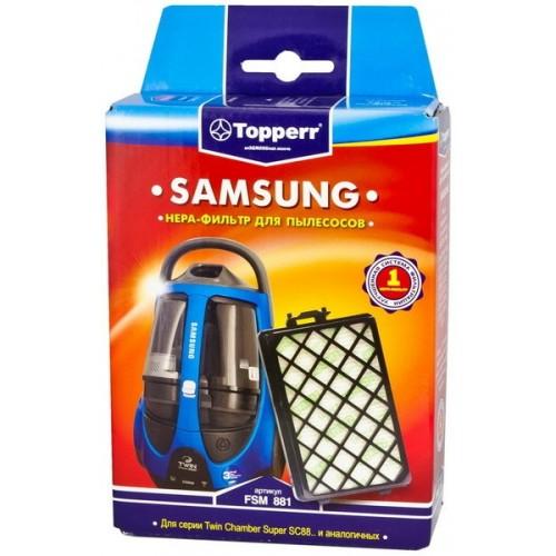 Фильтр для пылесоса TOPPERR 1125 FSM 881 HEPA-фильтр д/пылесоса SAMSUNG SC88.. (DJ97-01670D)