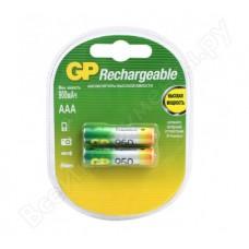 Аккумулятор GP AAA (2шт)